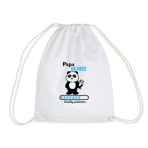 Papa en 2022 - Drawstring Bag