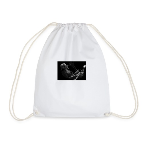 Wendy monochrome on stage - Drawstring Bag