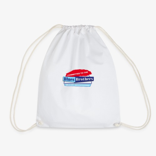 Official Committed to the Blues Logo - Drawstring Bag
