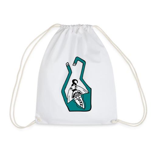 Julian Reaching - Drawstring Bag