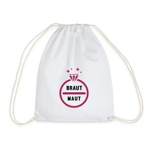 Braut Maut - JGA T-Shirt - JGA Shirt - Party - Turnbeutel