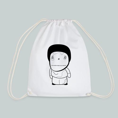 Curious boy - Drawstring Bag