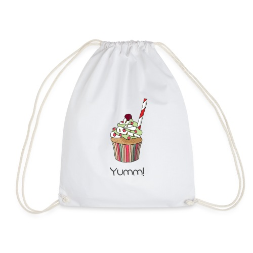 You are my yummy cupcake! - Drawstring Bag