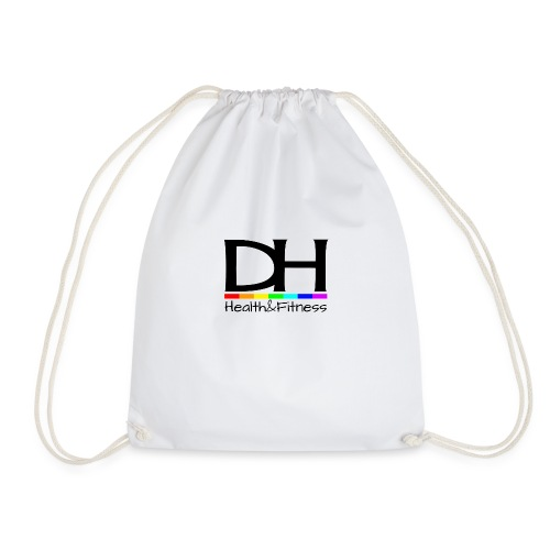 DH Health&Fitness Large logo - Drawstring Bag