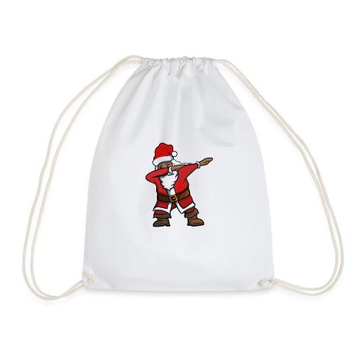 Black Santa - Dab für Kids und Teens - Turnbeutel