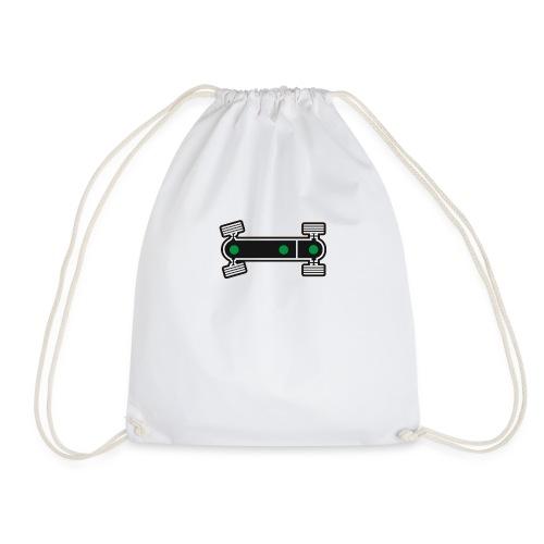 Diff Lock Diagram - Drawstring Bag