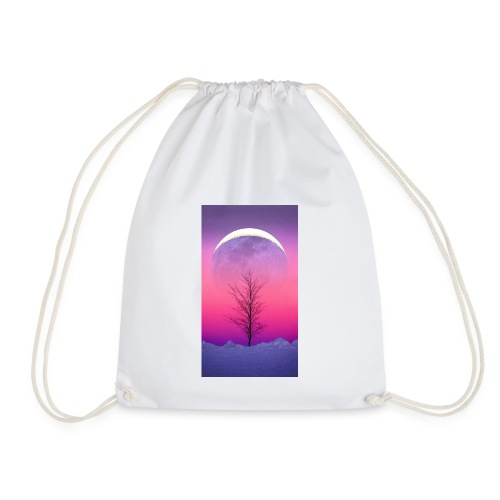 pure aesthetic - Drawstring Bag