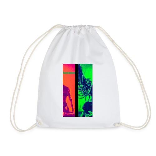 Pop-Art Double Flash Color twist New Neon - Turnbeutel