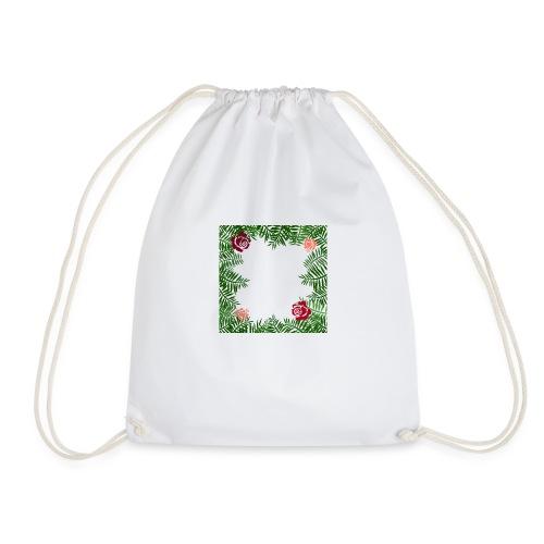 Flowers - Drawstring Bag