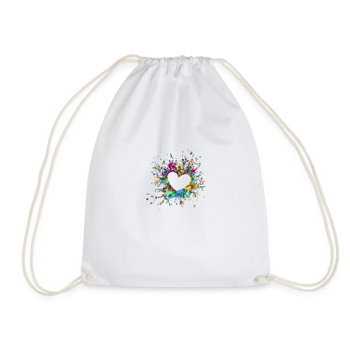 My heart explodes for you - Drawstring Bag