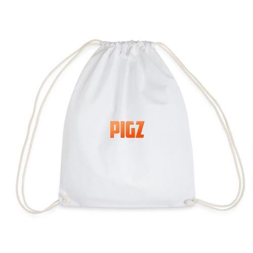 Pigz In Orange! - Drawstring Bag