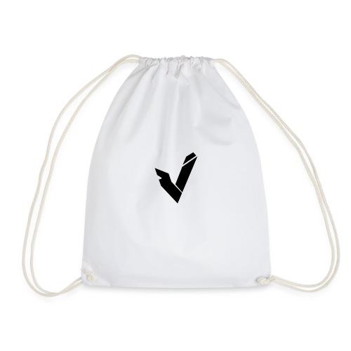 Vipz Logo Black - Turnbeutel