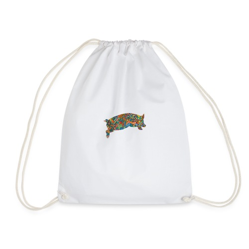 Time for a lucky jump - Drawstring Bag