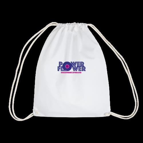 Logo PowerFlower colori - Sacca sportiva