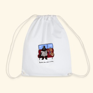Socks and shares - Drawstring Bag