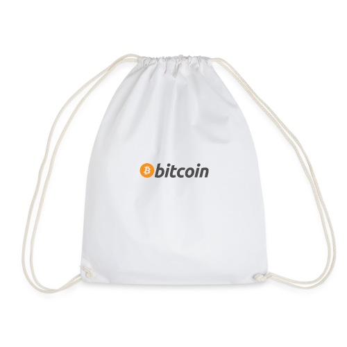 Bitcoin Logo - Drawstring Bag