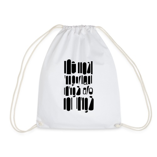 important - Drawstring Bag