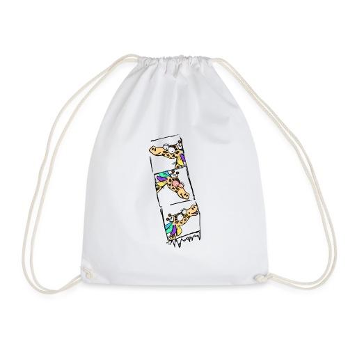 Geraldine Passport Photo Women's White T-shirt - Drawstring Bag