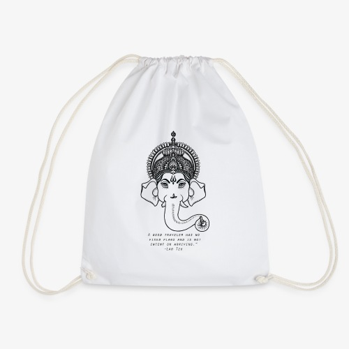 Travel quote 4 - Drawstring Bag