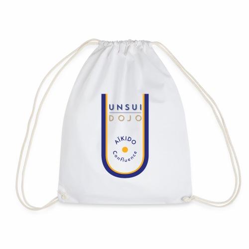 Logo aikido confluence fd blance 01 - Sac de sport léger