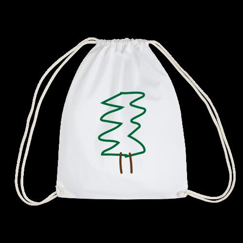 Weihnachtsbaum - Turnbeutel