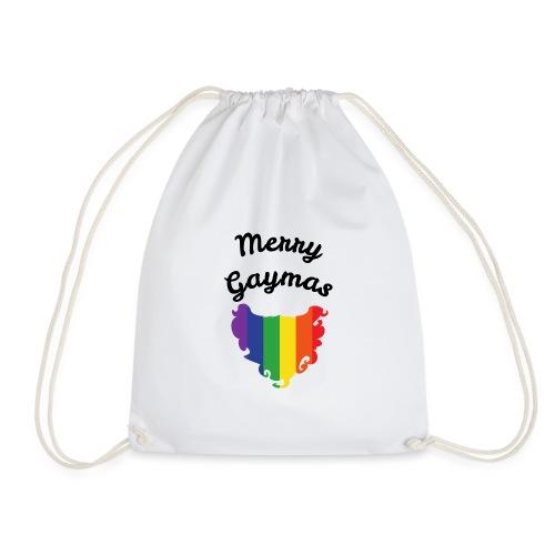 Merry Gaymas | Weihnachten | LGBT | Geschenkidee - Turnbeutel