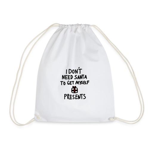 Anti Xmas T Shirt Spruch - Turnbeutel