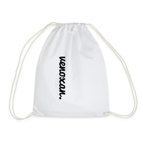 venoxan T-Shirt mit Schriftzug an der Seite - Drawstring Bag