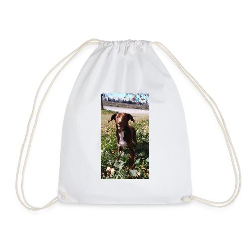 Choco en el jardín - Mochila saco