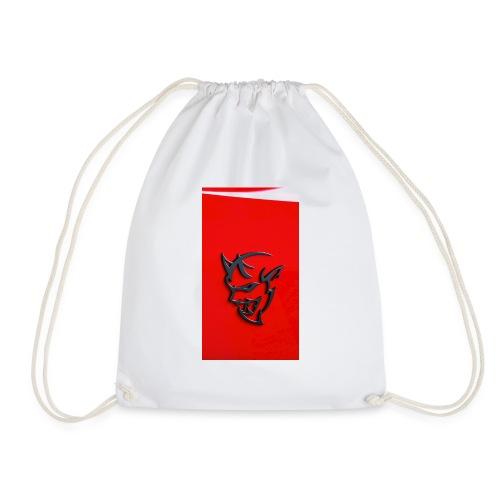 Dodge demon - Drawstring Bag