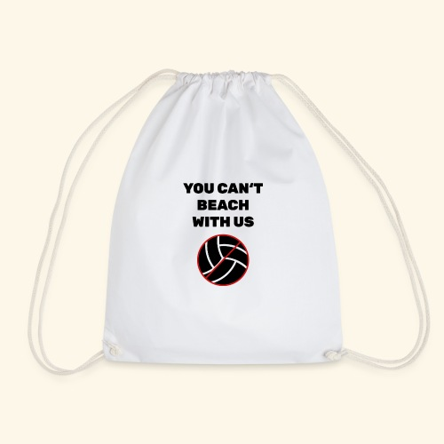 You can´t Beach with us - Turnbeutel