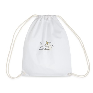 Unicorn Work - Drawstring Bag