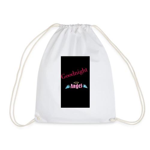 goodnight Angel Snapchat - Drawstring Bag