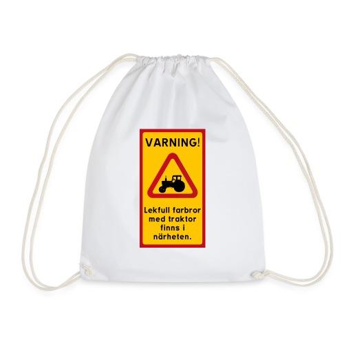Varning - Gymnastikpåse