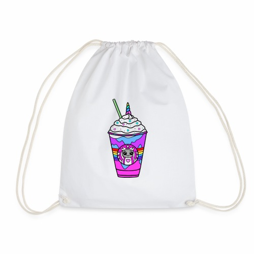 Unicorn Frappacino - Drawstring Bag