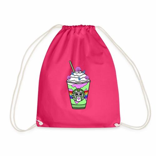 Mermaid frappuccino - Drawstring Bag