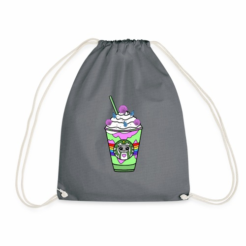 Mermaid frappuccino - Drawstring Bag