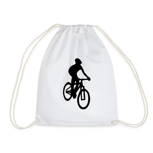 Mountainbiker - Turnbeutel