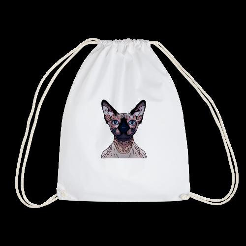 Sphynx motif - Drawstring Bag