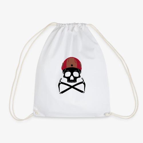 Climber Pirats skull black - Climbing Pirates - Drawstring Bag