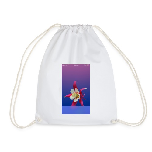 Flower iPhone case - Drawstring Bag