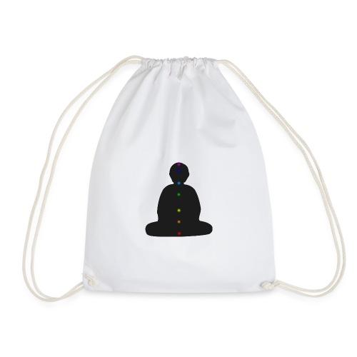 Chakren und Meditation - Turnbeutel