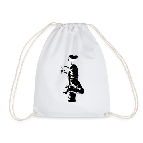 Black Bear - Drawstring Bag
