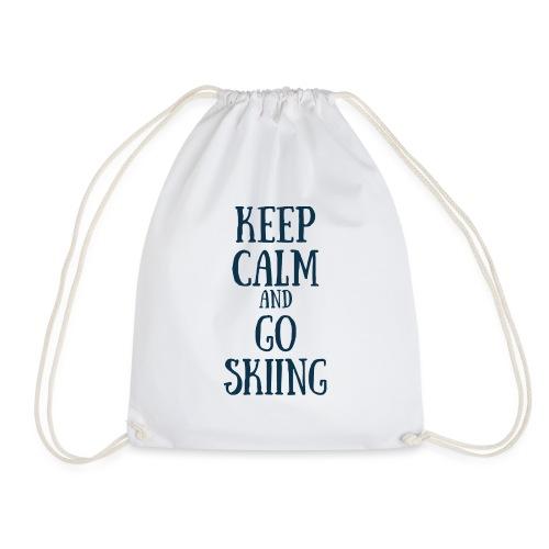 KEEP CALM AND GO SKIING - Sac de sport léger