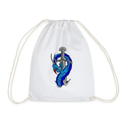 daga dragon vectorizado - Mochila saco