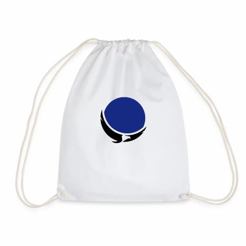 eagle blue - Drawstring Bag