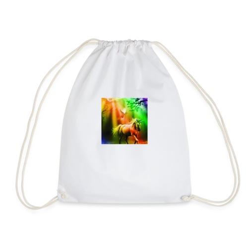 SASSY UNICORN - Drawstring Bag