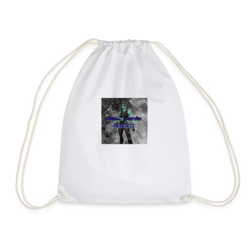 daniel jarvis gaming - Drawstring Bag