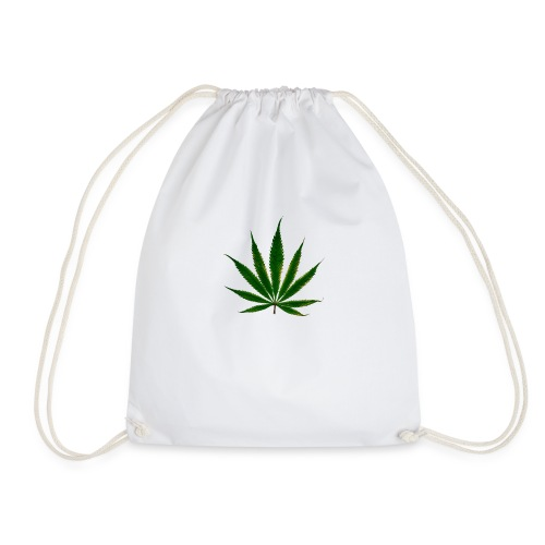 cannabis leaf - Sac de sport léger