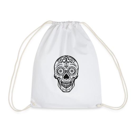 Skull black - Turnbeutel